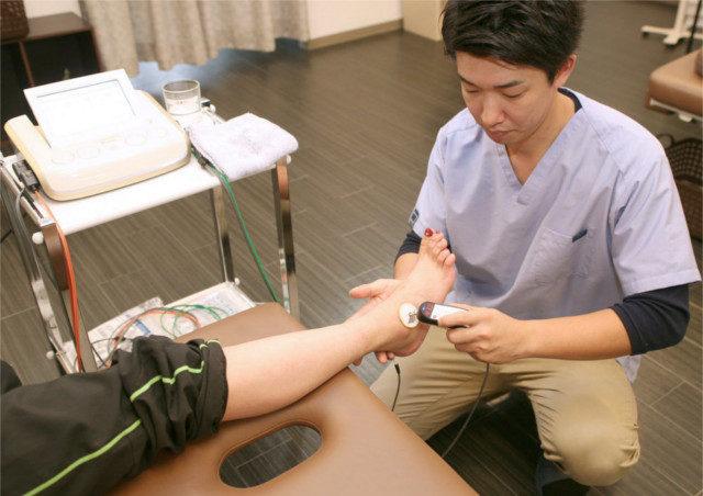 仙台の整骨院・接骨院【かなで接骨院】では特殊機器を用いた検査をします!